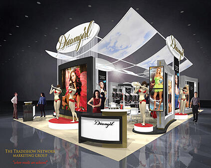 custom trade show display designs