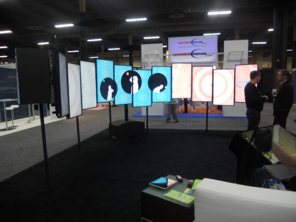 trade show 3d display design