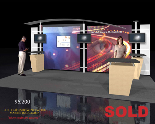 Used Trade Show Booth : Final days of used trade show booth sale
