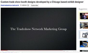 custom trade show display design video