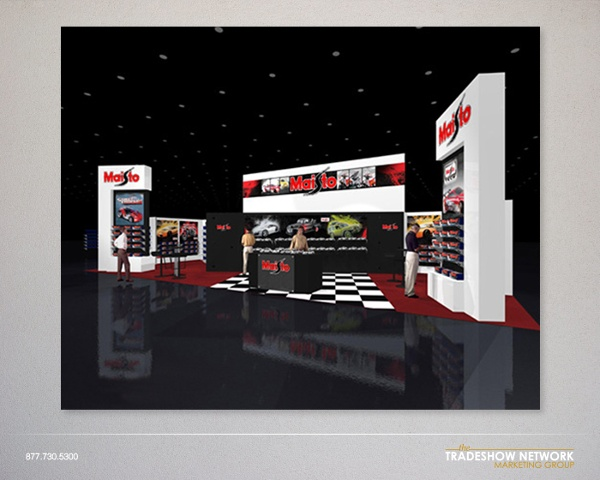 custom rental exhibit