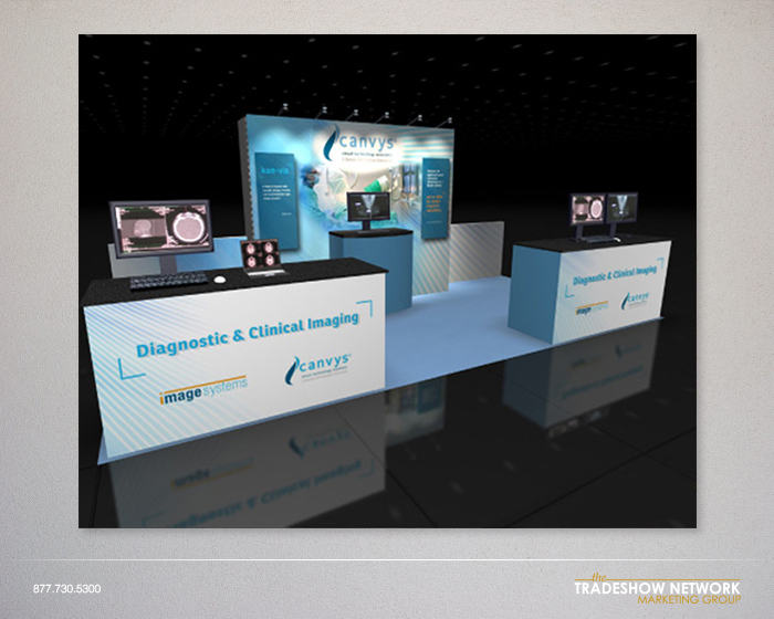inline rental booth design