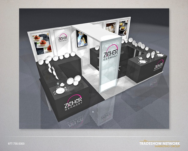 rental inline booth