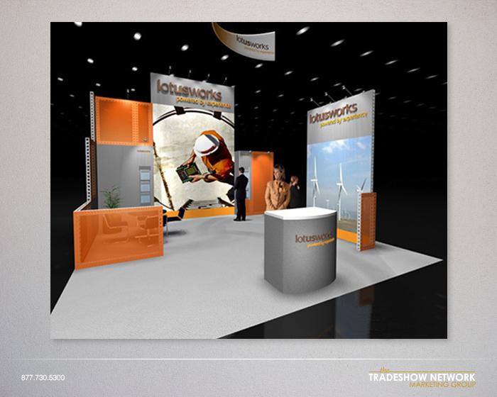 rental trade show display