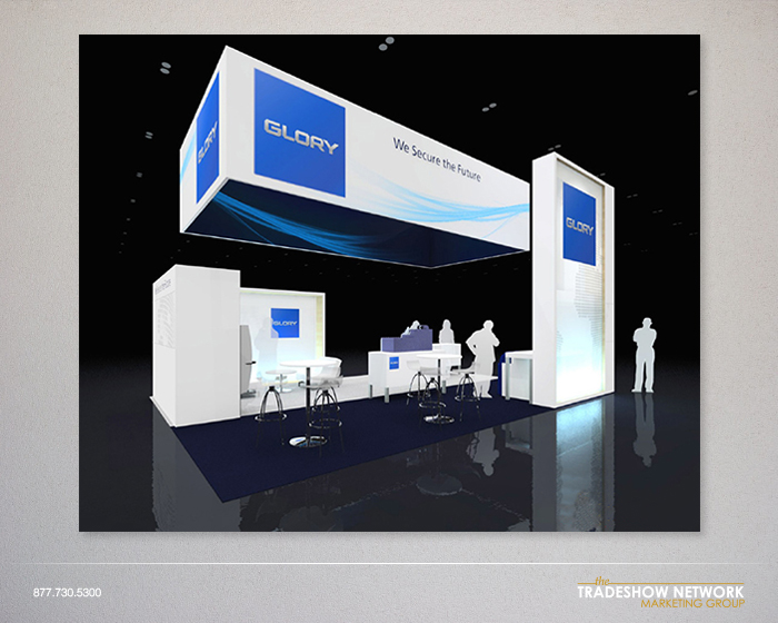 rental trade show display