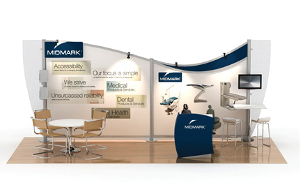 Creating Sleek, Modern, And Affordable Trade Show Displays