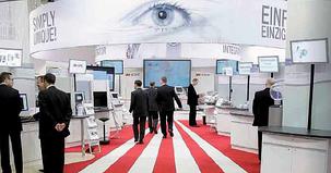 fabric tradeshow booth