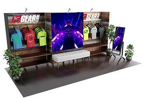 10x20 exhibit - the tradeshow network