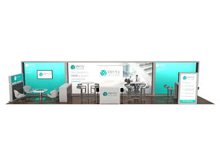 10x30 trade show booth