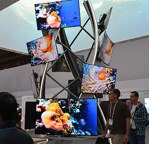 video walls for trade shows