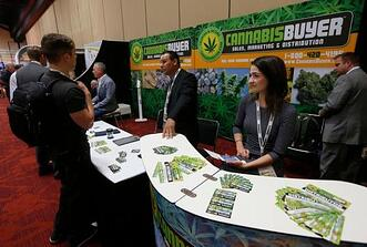 Portable Cannabis trade show booth