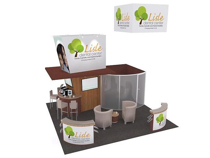 20x20 trade show booth the tradeshow network