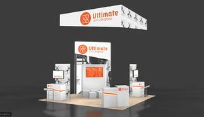 20x20 trade show booth - chicago