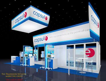20x50 trade show booth