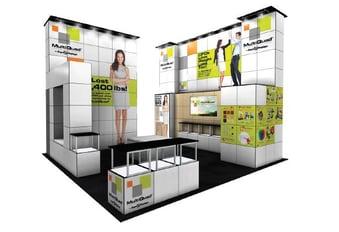 20x20 trade show exhibit