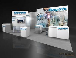 10x20 inline trade show booth