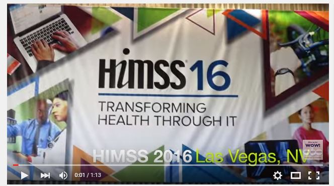HIMSS conference video