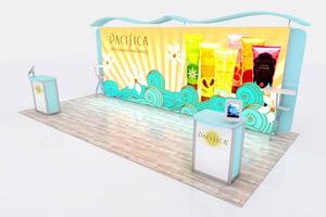 10x20 trade show booth design