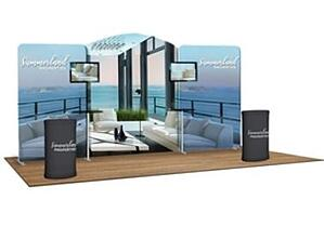 10x20 trade show booth