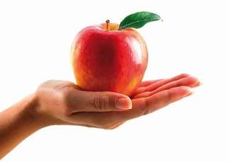 Apple-in-open-hand-temptation