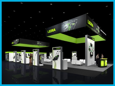 Trade show rental booth