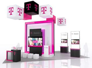 20x20 trade show display from ttnmg
