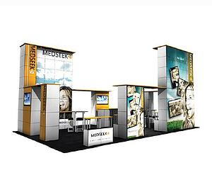 20x50 trade show rental booth