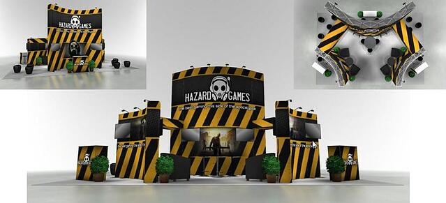 20x20 trade show booth from the tradeshow network