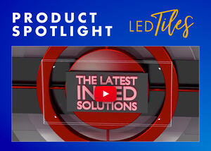 modular led tiles for your trade show event