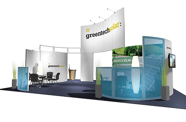 20x20 trade show display from The Tradeshow Network