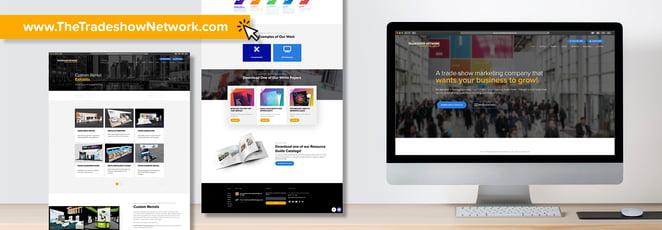trade show marketing website