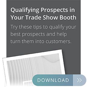 qualifying prospects in your trade show booth